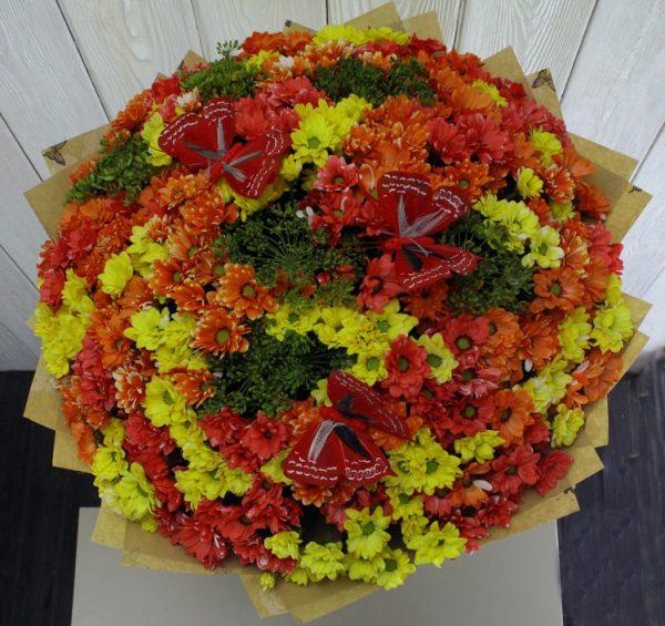orange bouquet